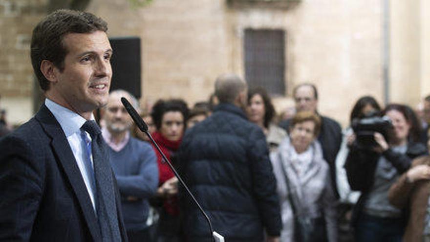 El 53,8% dels espanyols creu que Casado ha escorat el PP cap a la dreta