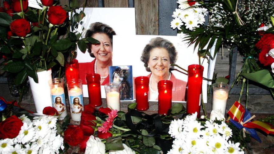 El PP recorda Rita Barberá a les Corts en el primer aniversari de la seva mort