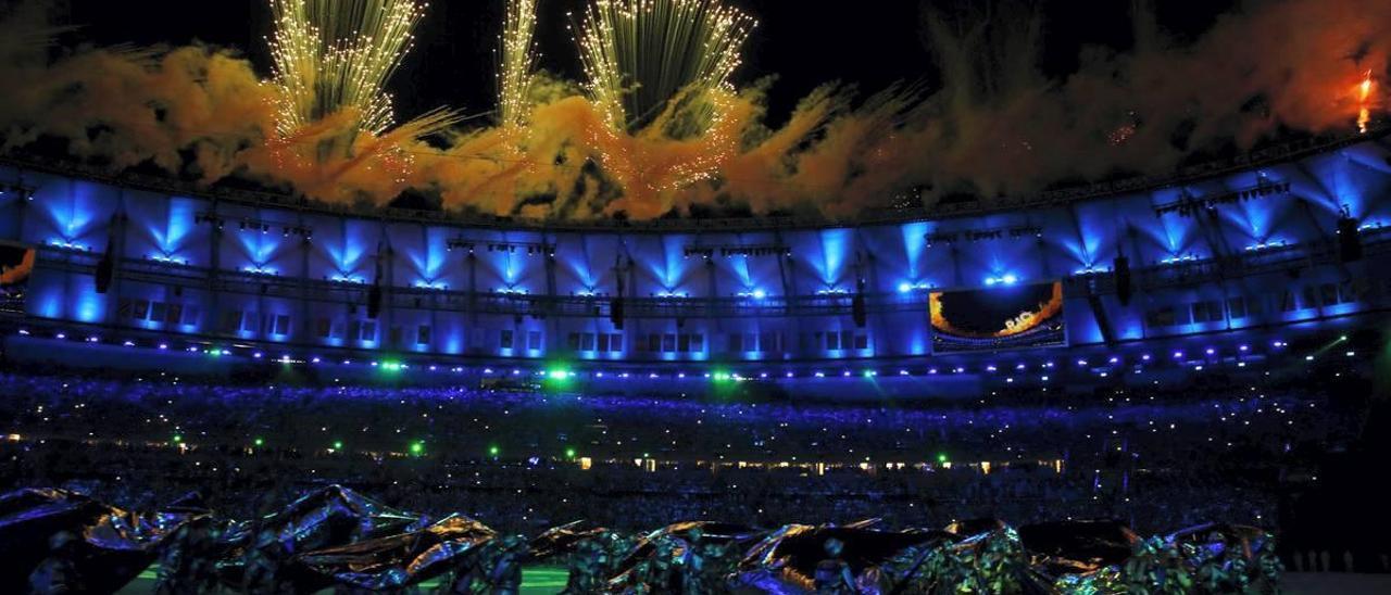 Ceremonia de los Juegos de Río de Janeiro