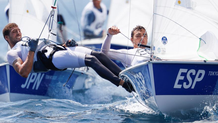Jordi Xammar y Nicolás Rodríguez, bronce en el 470 de vela