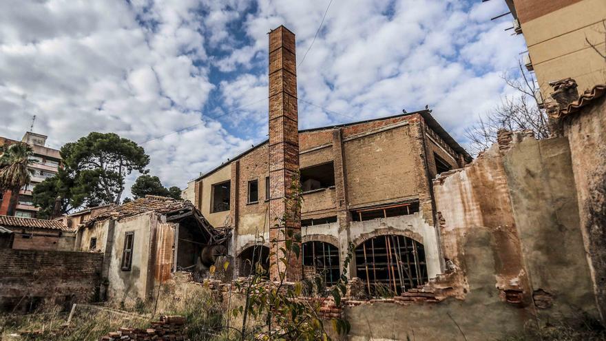 Urbanismo retoma la restauración de la Ceramo, al borde de la ruina