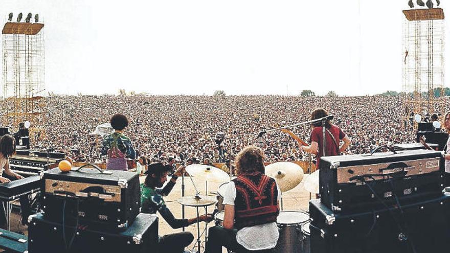 El mítico Woodstock