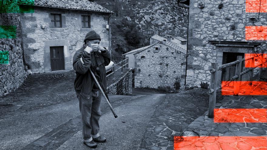 """El """"boom rural"""" de la pandemia no se ve en Asturias: bajan las cartillas"""