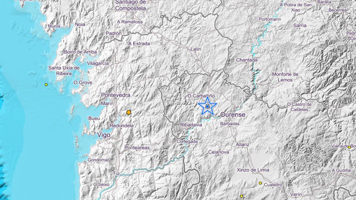 El epicentro del terremoto // IGN