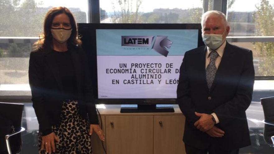 El proyecto de economía circular de Latemaluminium en Villabrázaro será un Plan Industrial Prioritario para la Junta