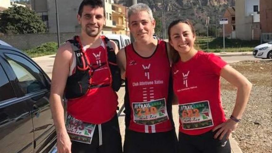 Rafael Murcia y Marga Paucar se imponen en el trail de Anna de 21 km
