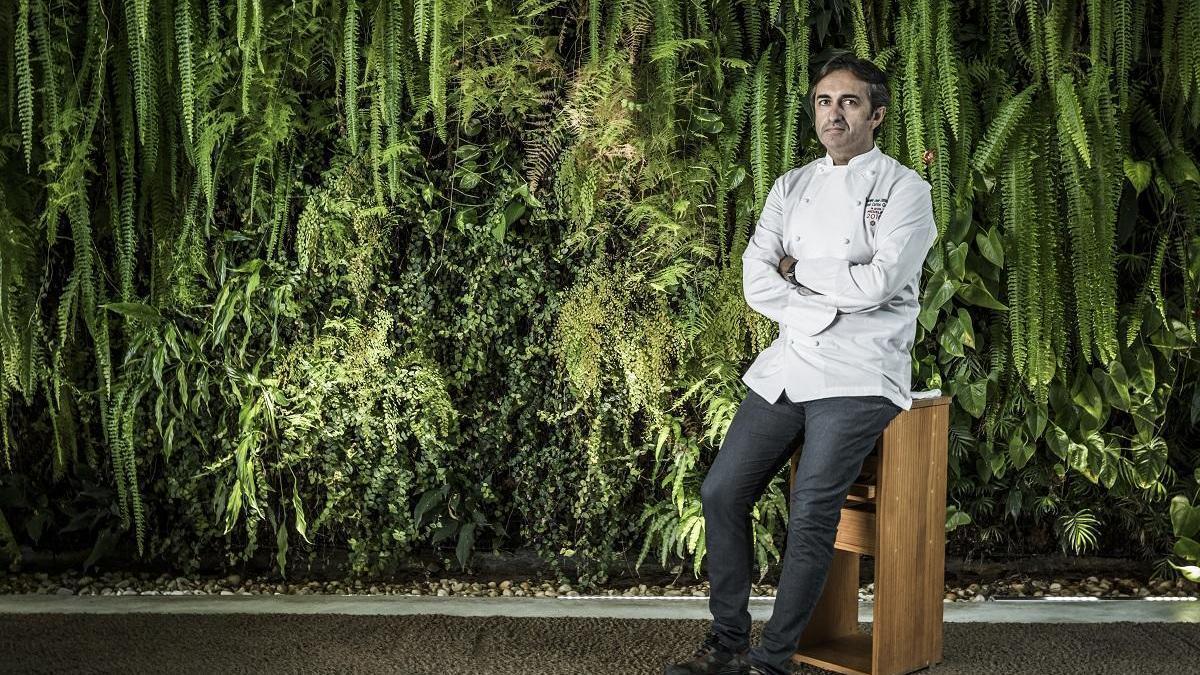 El chef estrella Michelin, José Carlos García.