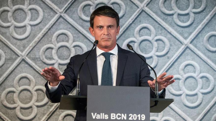 Manuel Valls, en contra del català a l'escola: «Destrueix la unitat republicana»