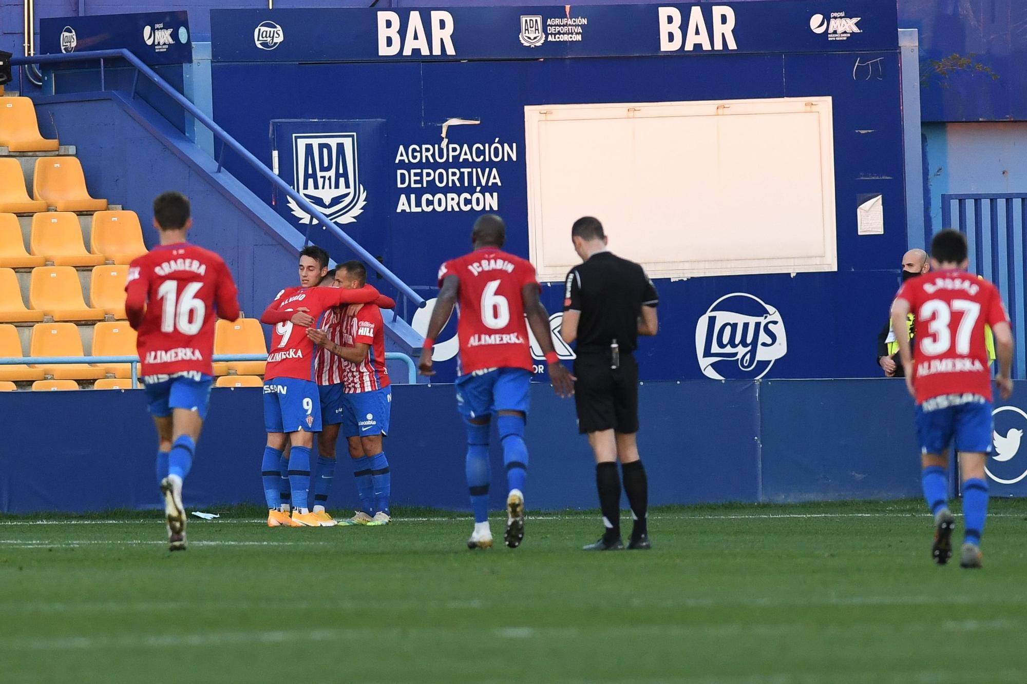 Alcorcón 1 - 2 Sporting