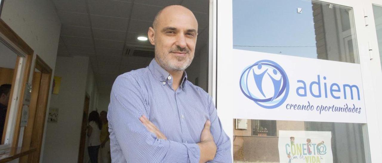 Francisco Canales es responsable de la asociación Adiem.