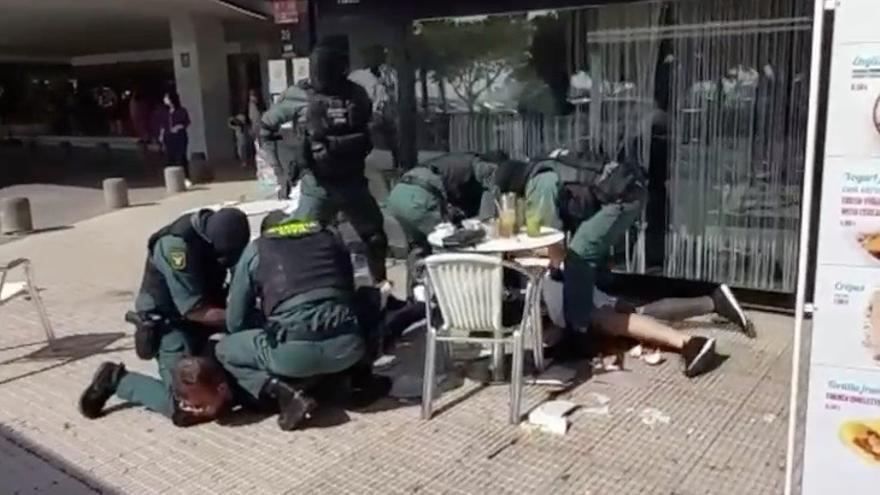 Así actúa la Unidad de Seguridad Ciudadana (Usecic) de la Guardia Civil en Palma
