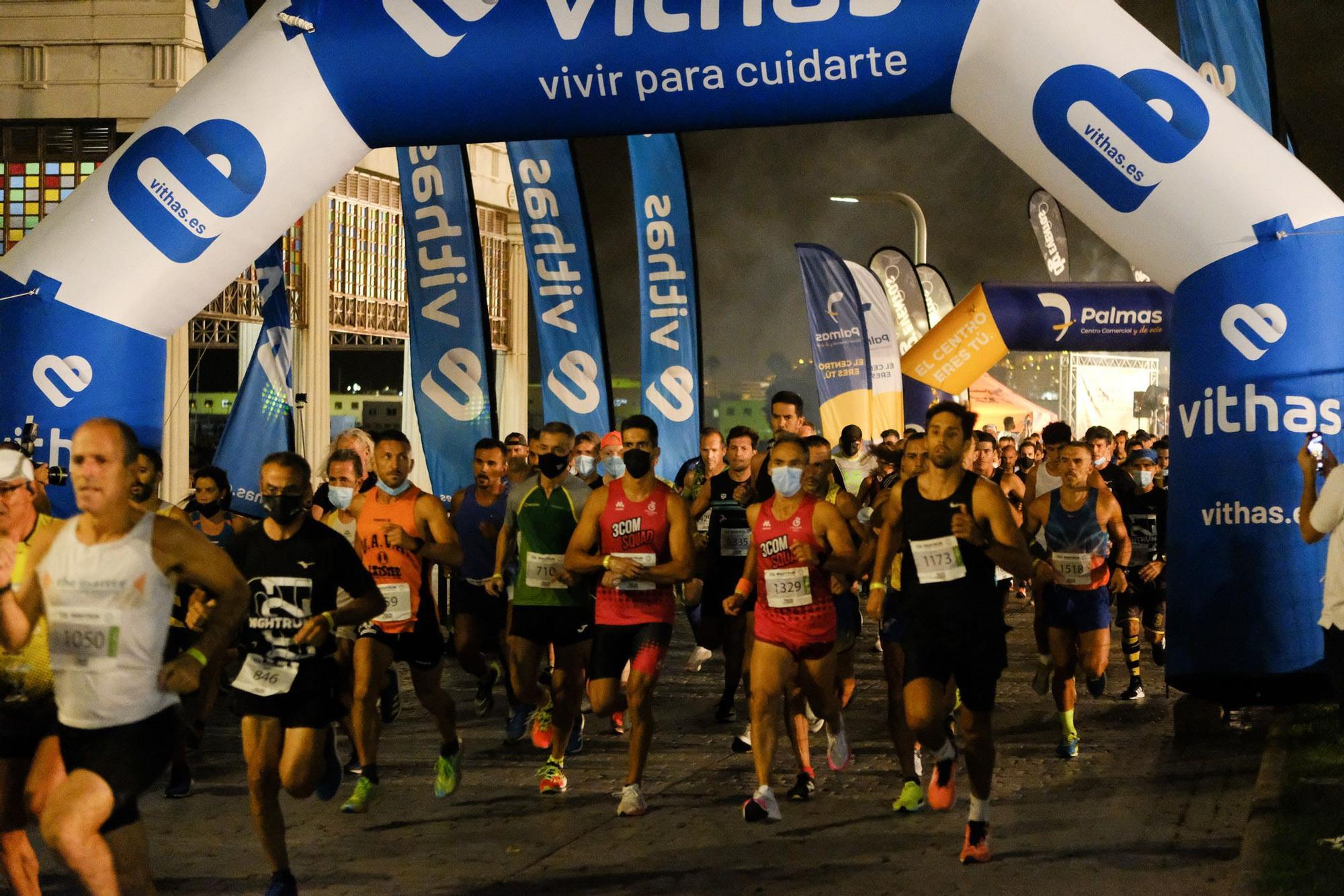 Carrera NightRun en Las Palmas de Gran Canaria (24/10/2021)