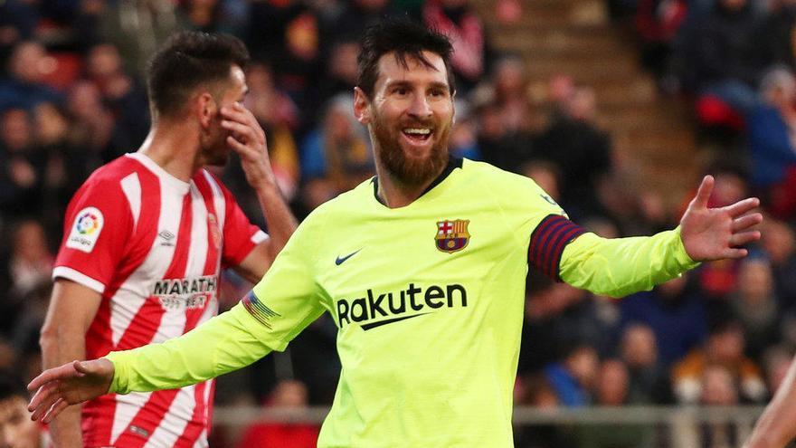 Messi crea un espectáculo del Circo del Sol