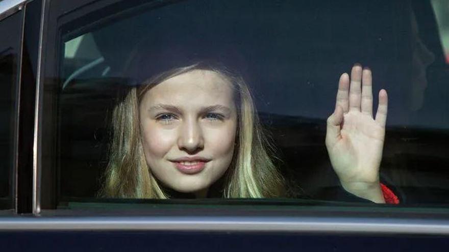 La Princesa Leonor estudiará Bachillerato en el Reino Unido