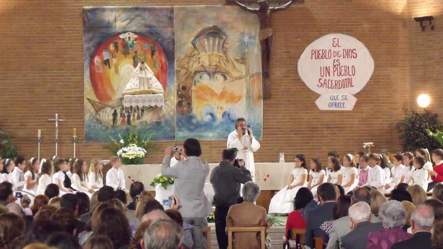 Las comuniones se celebran este año en Córdoba en sus fechas habituales de abril y mayo, con medidas ante el covid