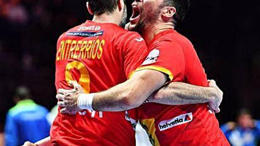 España jugará de nuevo la final tras imponerse a Eslovenia