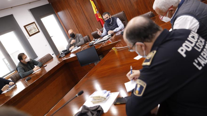 L'Alfàs del Pi reforzará la vigilancia policial en la playa de l'Albir en Semana Santa