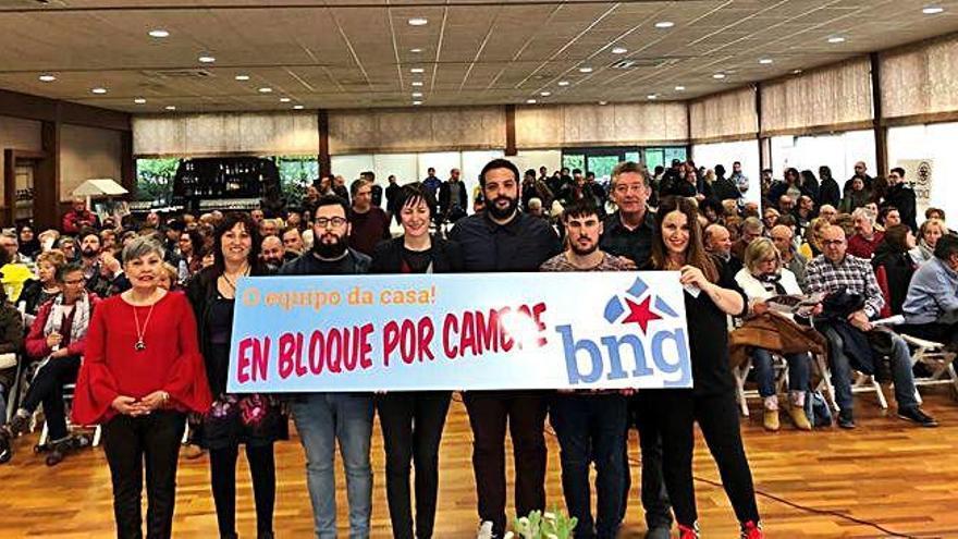 """O BNG cambrés presenta ao """"equipo da casa"""""""