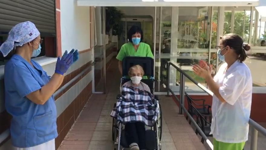 La última paciente con coronavirus en la residencia de Malpartida de Plasencia da negativo