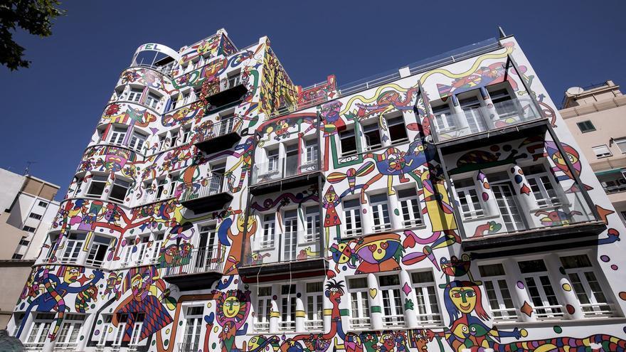Buntes Hotel auf Mallorca muss definitiv überstrichen werden