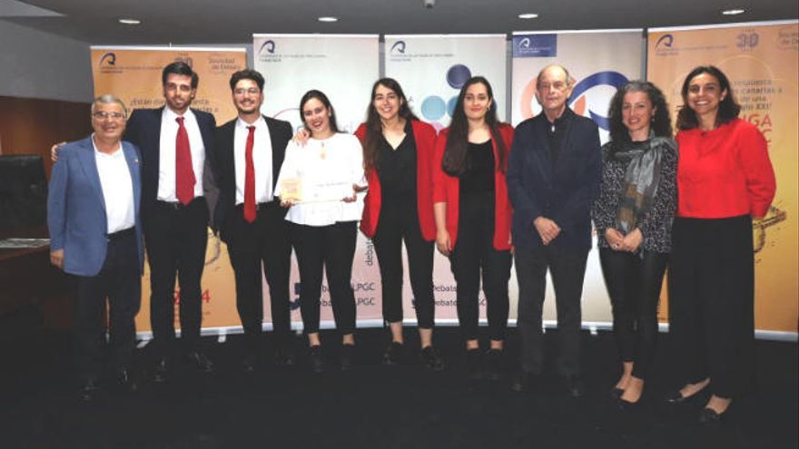 El equipo Paideía representa a la ULPGC en la edición 2020 de la Liga Española de Debate Universitario