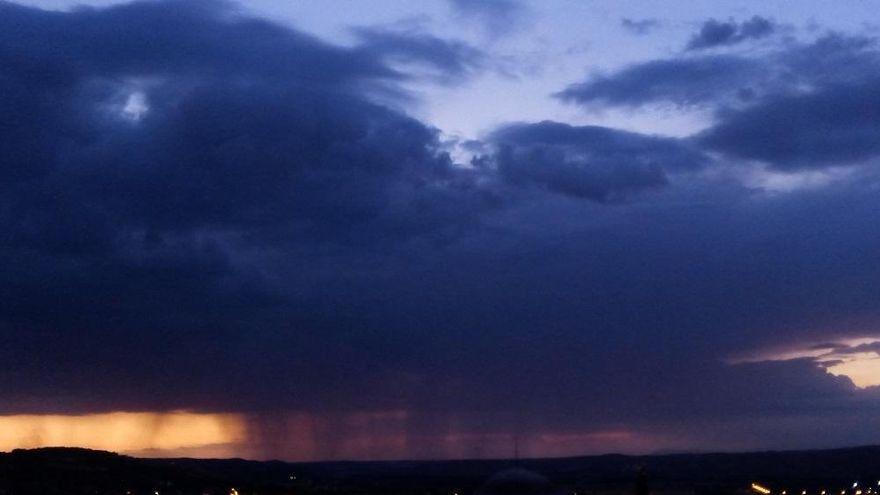 El tiempo en Córdoba: activado para este martes en la Subbética el aviso amarillo por tormentas