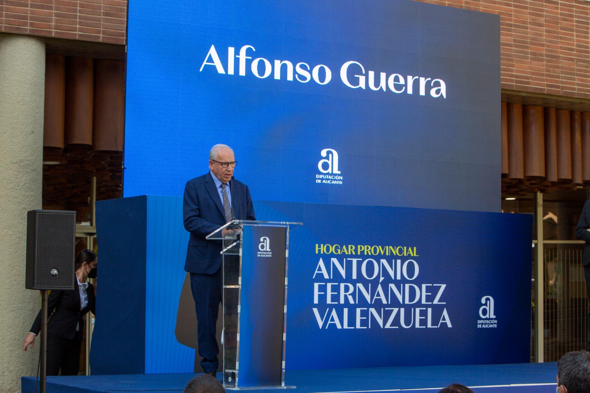 Homenaje a Antonio Fernández Valenzuela
