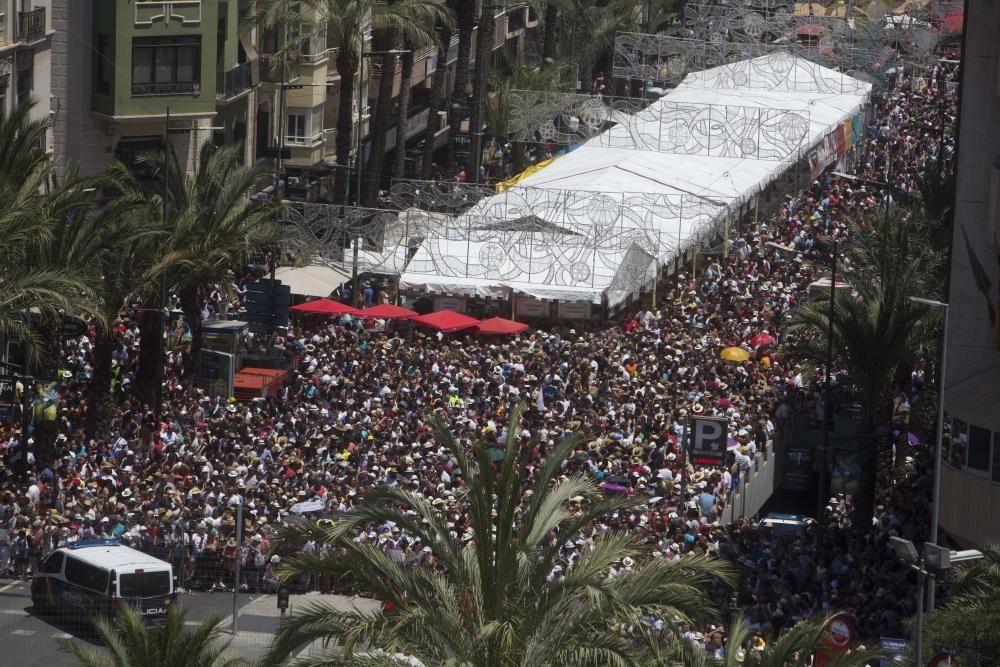 Hogueras 2018: Mascletá de las Hogueras de Alicante de 23 de junio.