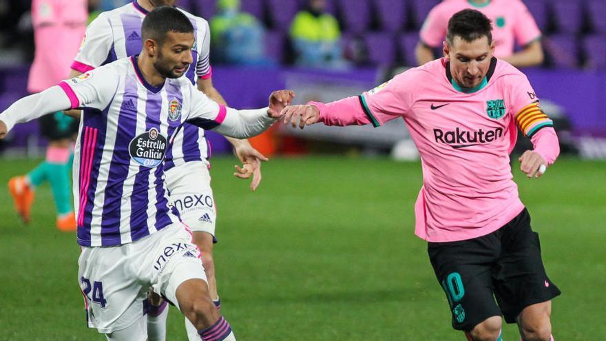 Messi, con molestias en el tobillo derecho, baja ante el Eibar