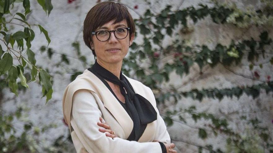 """María Gámez: """"En la pandemia la Guardia Civil se vio como la que ayuda, no que sanciona"""""""