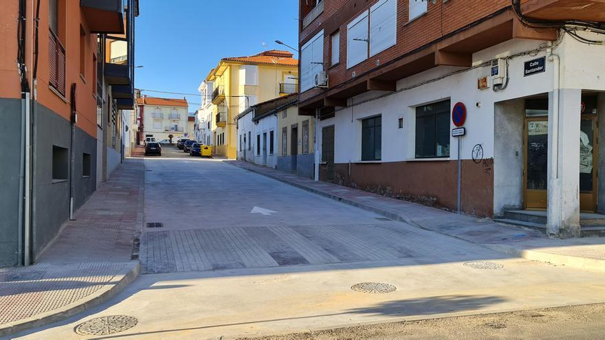 Nuevas mejoras en las calles de Jaraíz