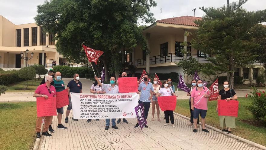 IU y Podemos insisten en que el Consistorio rescate la concesión de la cafetería de Parcemasa