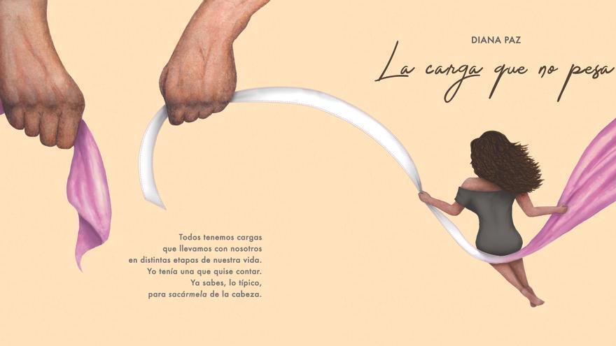 Presentación libro La carga que no pesa de Diana Paz