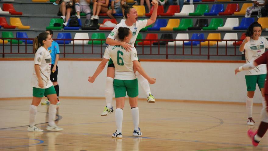 El Joventut d'Elx de fútbol sala femenino pelea por el ascenso a Primera