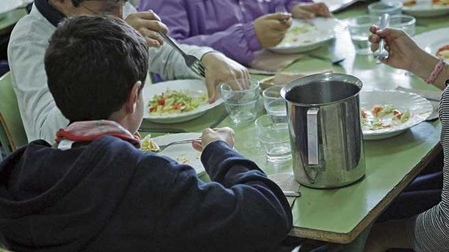 Comedores escolares poscovid: patios, aulas y grupos separados