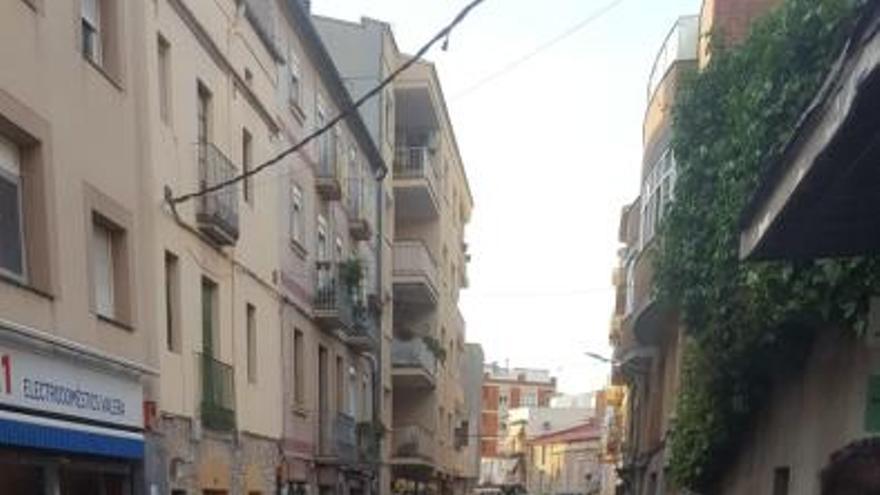 Accident de trànsit a Sant Vicenç de Castellet