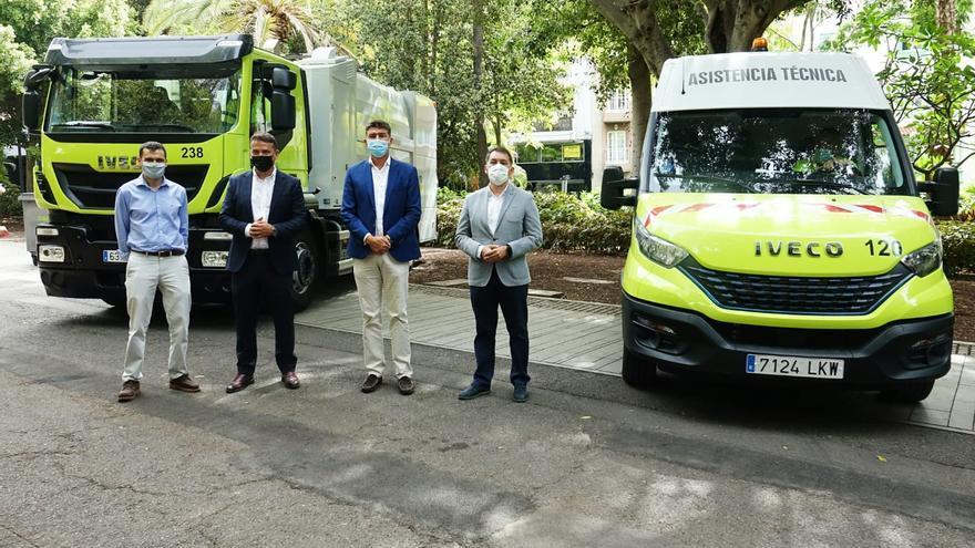 El servicio de limpieza de Santa Cruz reduce en 137 toneladas las emisiones de CO2 con sus 74 nuevos vehículos
