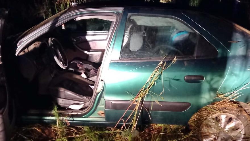 Un vecino de Santa Marta provoca un accidente, se da la fuga y trata de encubrir sus delitos