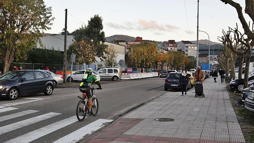 La obra de la Avenida de Mendiño sigue sin fecha por un conflicto entre administraciones