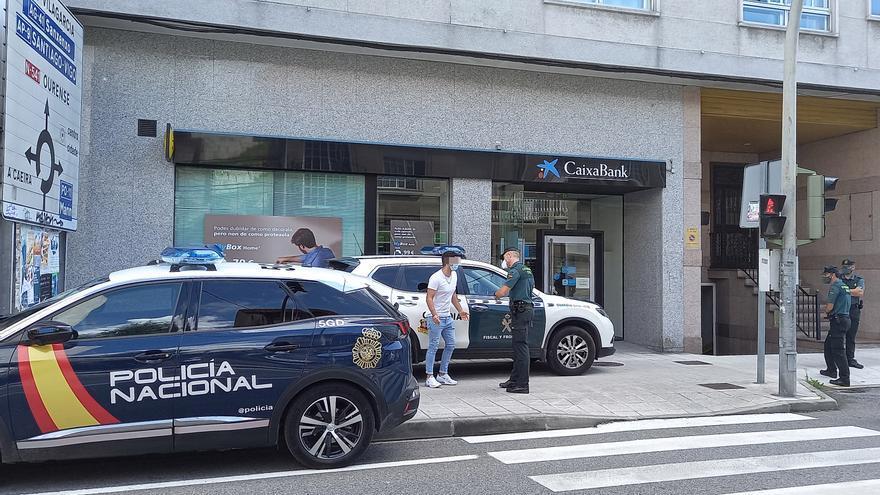 En libertad los dos detenidos en un operativo antidroga en Pontevedra y Poio