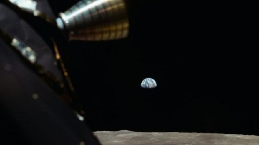 Projecció d'Apolo 11 de Todd Miller