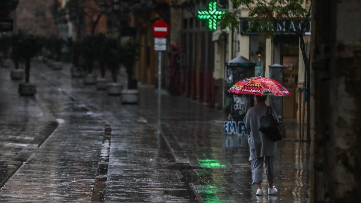 Se esperan fuertes lluvias en el interior de Castelló
