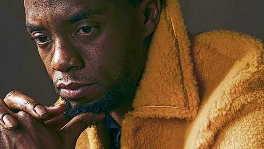 El actor Chadwick Boseman estrena en Netflix la nueva película de Spike Lee