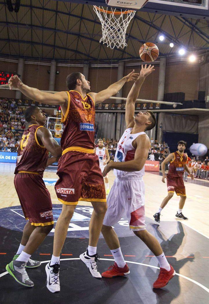 Eurobasket 2015: España - Macedonia