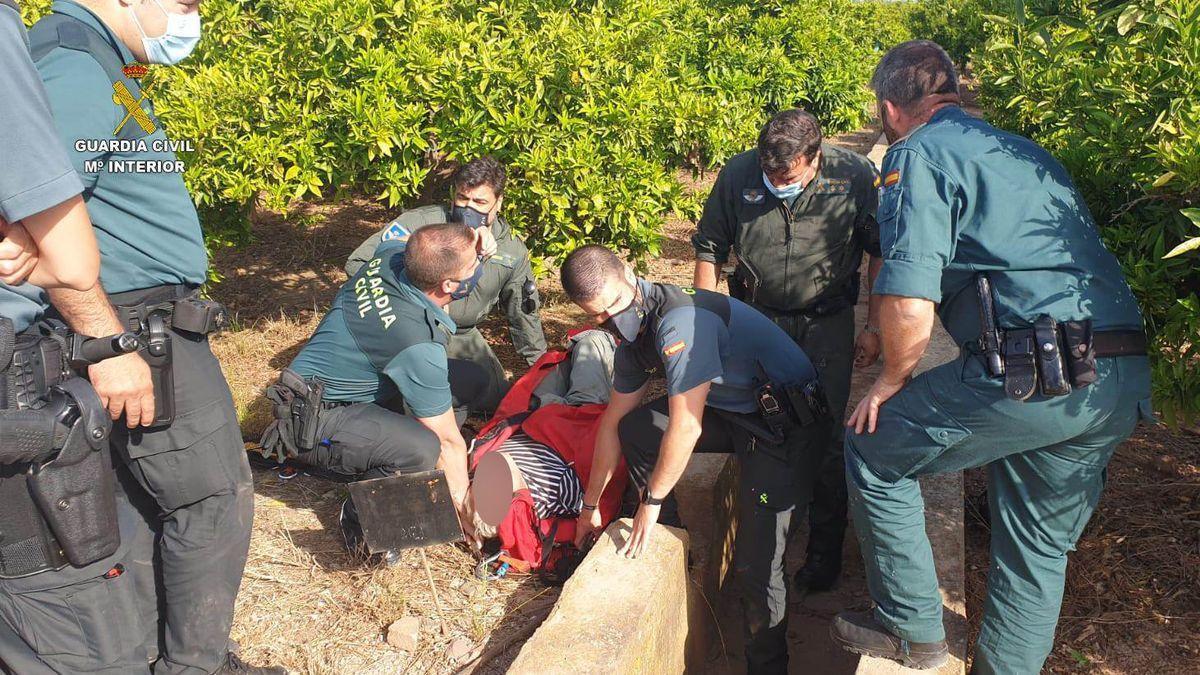 Hallan dentro de una acequia a un anciano desaparecido en Borriana