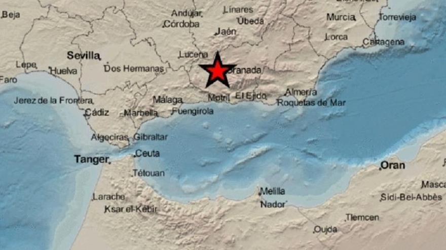 terremoto en Chauchina