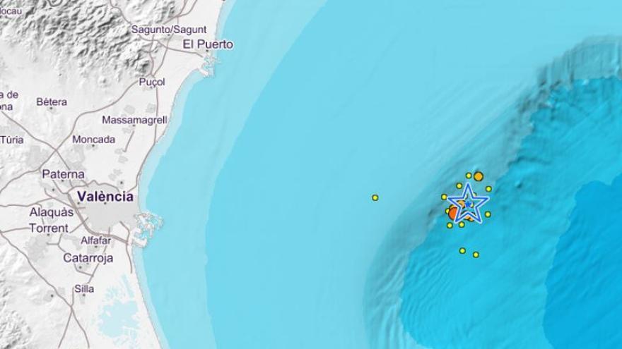 Valencia sufre 22 terremotos durante esta pasada madrugada