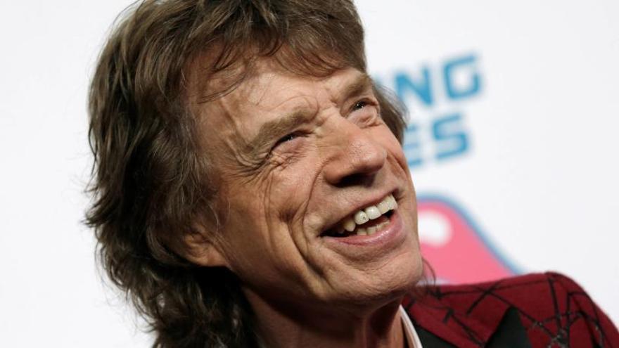 Mick Jagger és pare per vuitena vegada als 73 anys