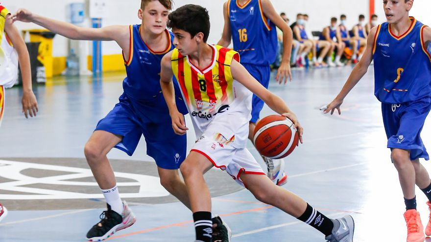 Los chicos de Aragón caen en las semifinales del Campeonato de España mini