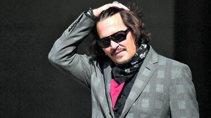 """Johnny Depp pierde ante """"The Sun"""" el juicio por libelo"""